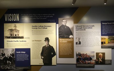 Vision, Mission, Values: 125 Years of George Fox University