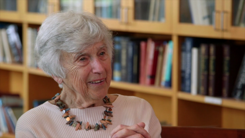Oral history interviewee Muriel Lezak. Photo courtesy of OHSU HCA.