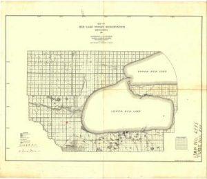 Red Lake Minnesota Map.U S V Joseph Jackson Red Lake Indian Reservation Diminishment
